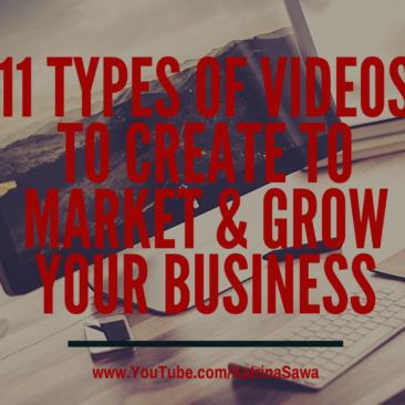 11 types of videos